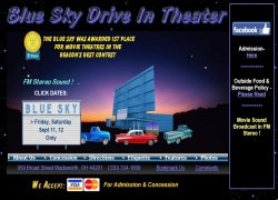 Blue Sky Drive-In Theatre